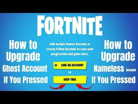 Fortnite Ghost Account How To Make A Epic Account