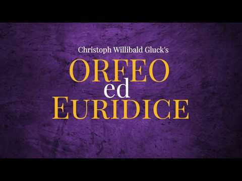 Orfeo ed Euridice Opening Night is on March 17, 2018