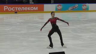 Камила Валиева ПП Тренировка фрагмент II этап кубка России Москва 11 10 2020