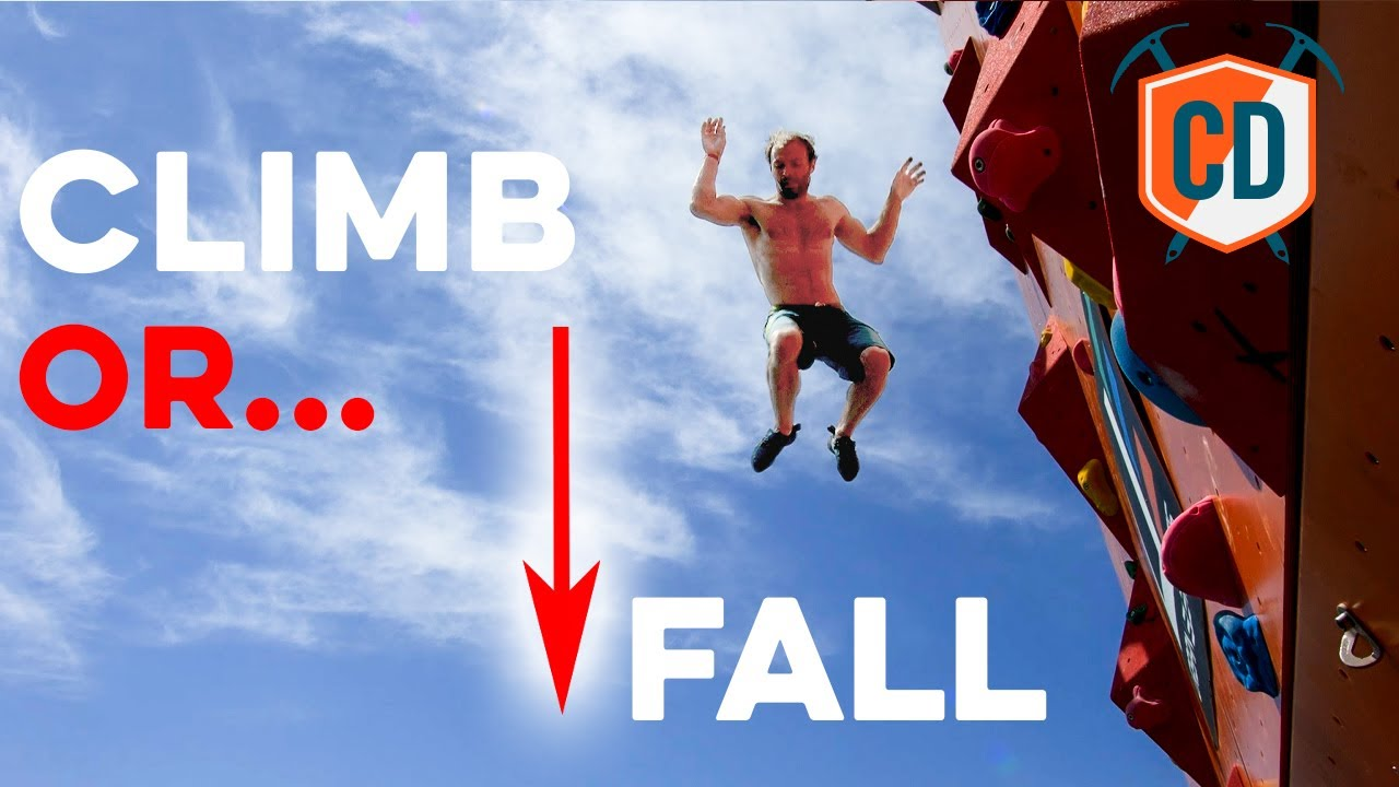 No Ropes, No Pads...Just Water | Climbing Daily Ep.1702