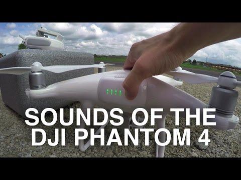 Sounds of the DJI Phantom 4