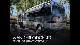 [SOLD] Used 1995 Wanderlodge 40 in Desert Hot Springs, California