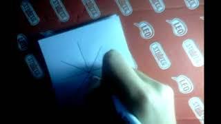 Рисуем паутину с паучком