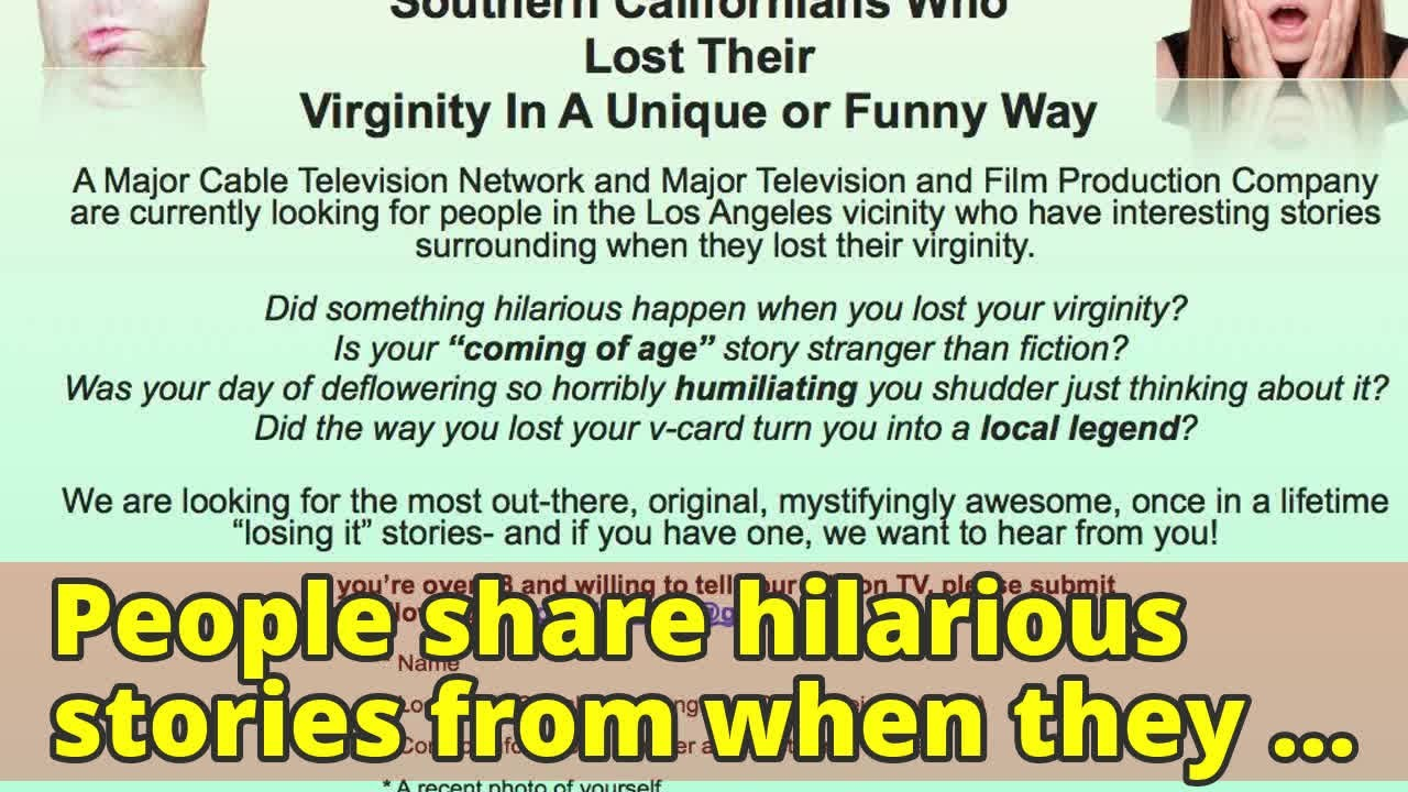 Stories about virginity