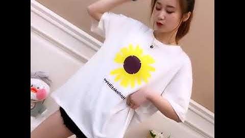 트렌디한 임부복 여름 반팔 티셔츠 여 2020 신상 루즈핏 중장태양화 임부 상의 이너SZY051455