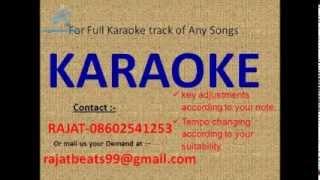 ye mera deewanapan hai karaoke track
