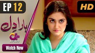 Haara Dil - Episode 12 | Aplus Dramas | Danish Taimoor, Hiba Bukhari | Pakistani Drama