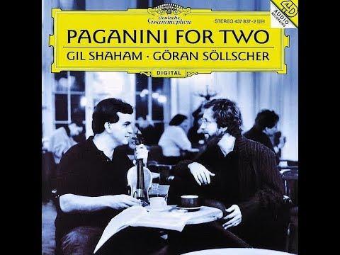 GRAND SONATA IN A MAJOR (OP.35), MS3, ROMANCE - NICCOLO PAGANINI (GIL SHAHAM - GÖRAN SÖLLSCHER)