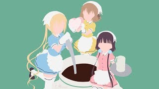 """Blend S Opening """"Bon Appétit S (ぼなぺてぃーと S)"""" by …"""