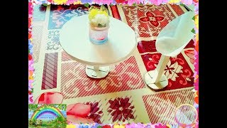Как сделать для кукол стол и стулья 15.07.2017