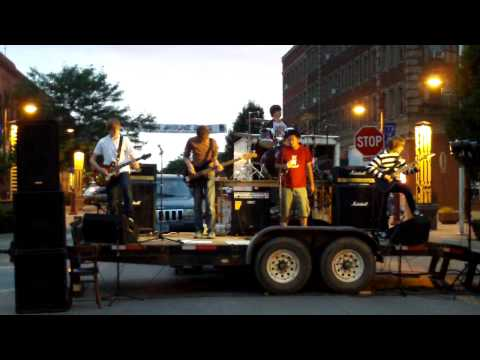 Ames Young Band Event 7-17-09 Downtown - Band8 HeavyMetal
