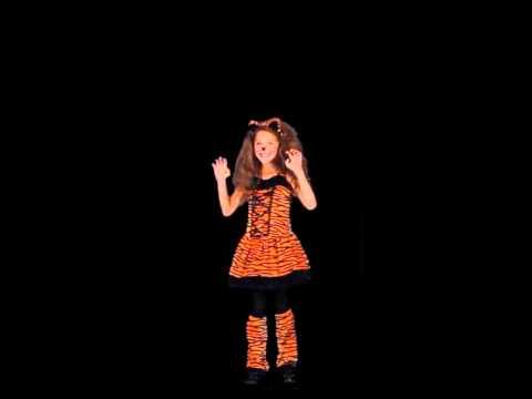 Tiny Tiger Girls Costume