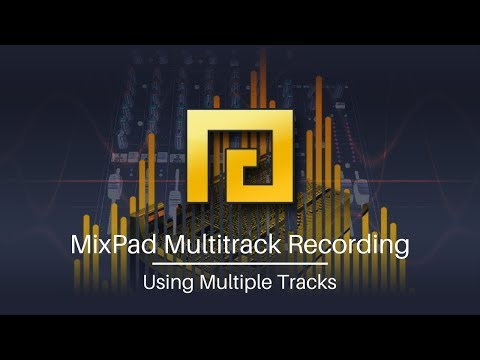 MixPad Audio Mixing Software | Using Multiple Tracks