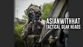 Tactical Gear Heads Ft. Asianwithhat - Airsoft GI