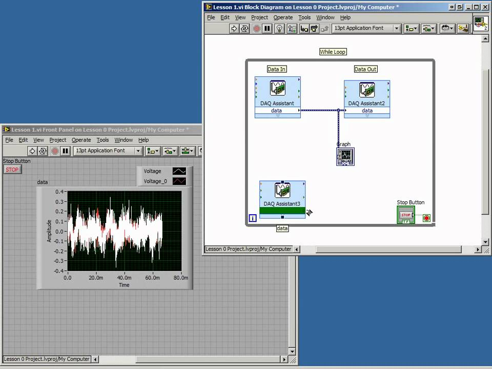 Introduction to LabVIEW with myDAQ: Digital Inputs