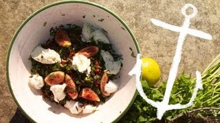 Wild Rice Pomegranate & Buffalo Mozzarella Salad Recipe Bondi Harvest