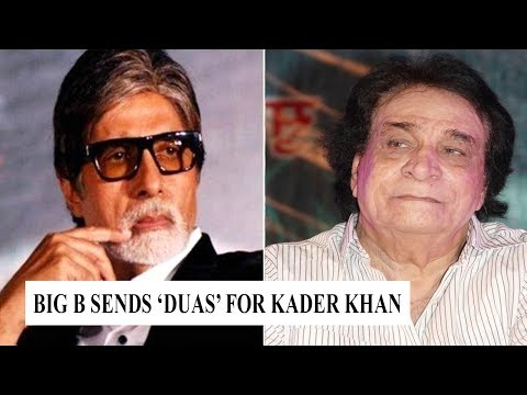 Amitabh Bachchan wishes Kader Khan speedy recovery Mp3