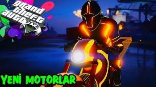 GTA 5 ONLINE YEPYENİ IŞIKLI MOTORLAR!   DEADLINE