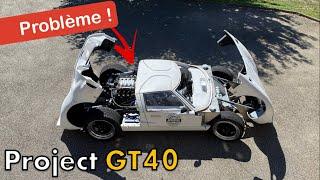 Je construis ma voiture - MECANIQUE circuit d'essence et GROSSE ANNONCE [GT40 project #64]