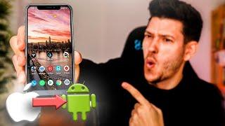 ANDROID 10 INSTALADO en un iPHONE!!!!!!!!!!