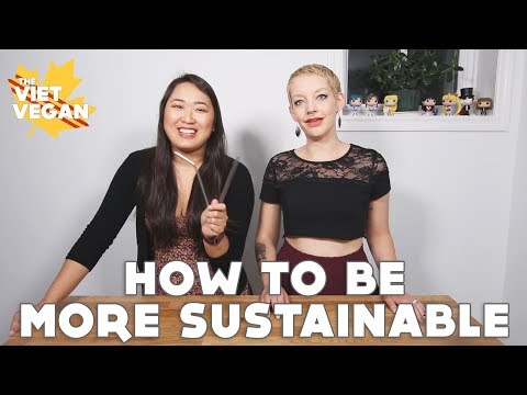How To Be More Sustainable with Jessica!