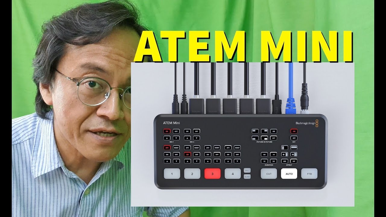 7 Reasons To Choose Atem Mini Live Production Switcher Blackmagic Design Youtube