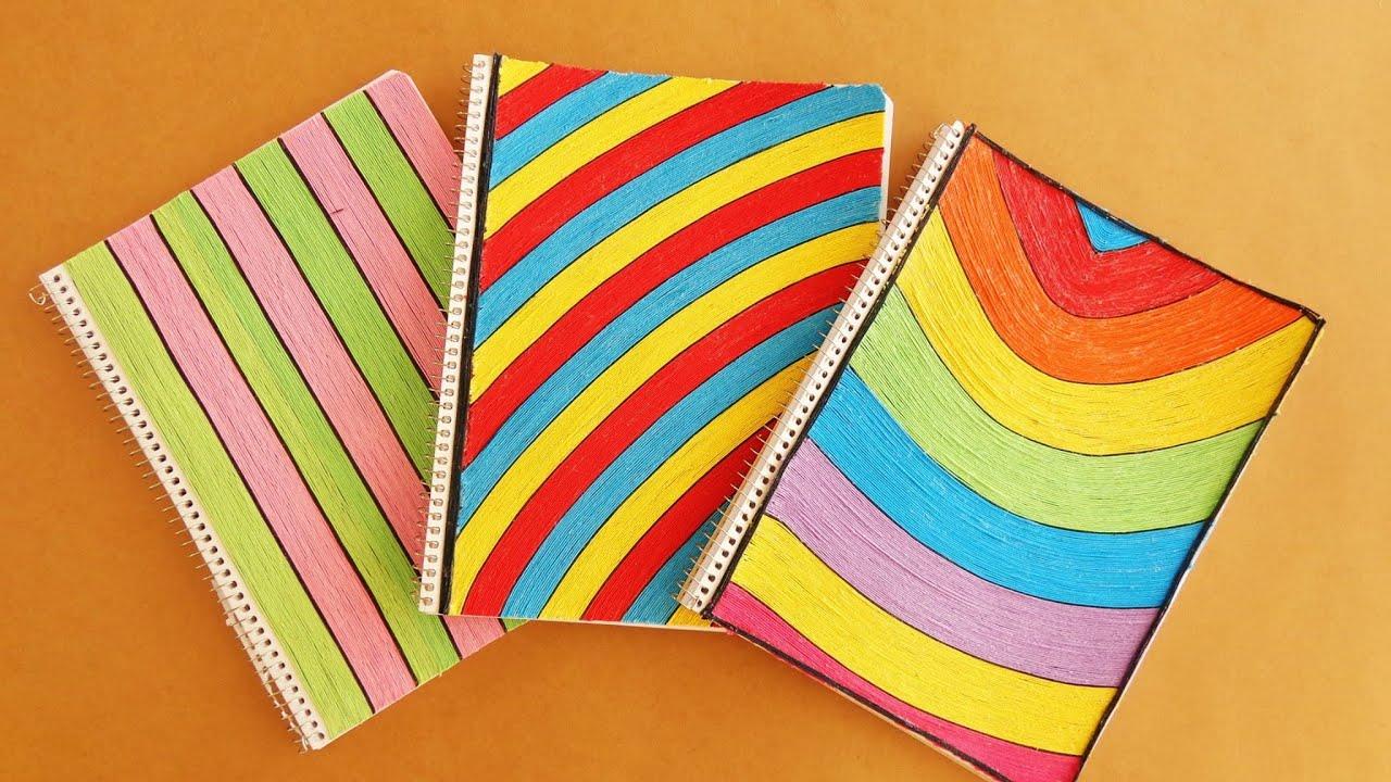 Decora tus cuadernos para el regreso a clases youtube - Paginas web de decoracion ...