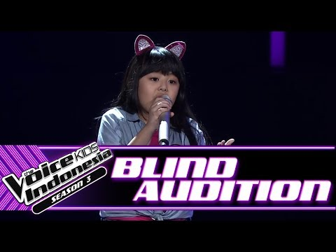 Zahrah - Reflection | Blind Auditions | The Voice Kids Indonesia Season 3 GTV 2018