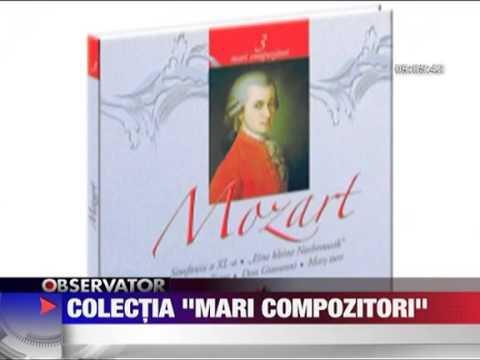 Colectia Mari Compozitori cu Jurnalul National 5 MARTIE 2011