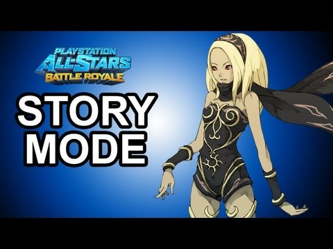 Playstation All Stars Battle Royale - DLC: Kat Story Mode Walkthrough!!