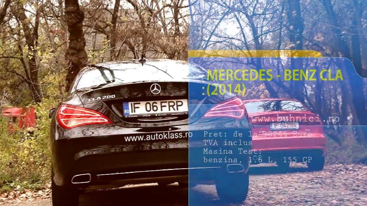 REVIEW - Mercedes Benz CLA 2014 (www.buhnici.ro)