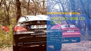 REVIEW - Mercedes Benz CLA 2014 (www.buhnici.ro)