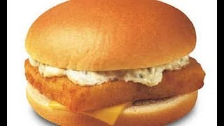 Fish Fillet Burger (restaurant Style)