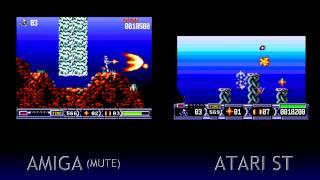 Amiga V Atari ST - Turrican II