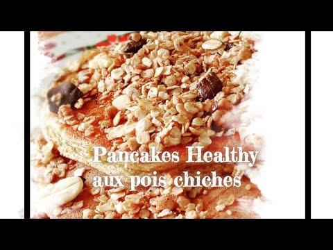 pancakes-healthy-À-la-farine-de-pois-chiche