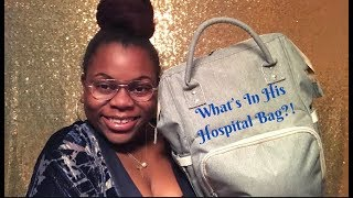 What's in His Hospital Bag!? 38 Weeks Pregnant