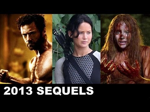 Top Ten Sequels & Remakes of 2013: The Hunger Games Catching Fire, Sin City  2, Carrie and more!