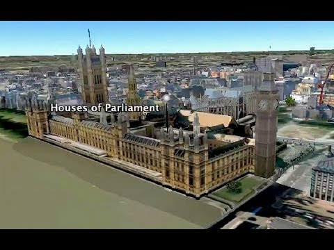 UCL & London - Google Earth fly-through