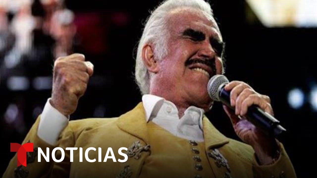 Download Vicente Fernández sigue estable hospitalizado tras una caída | Noticias Telemundo