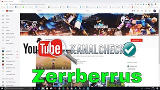 🔍#Kanalcheck -  Zerrberrus thumbnail