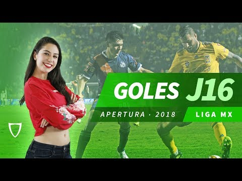 Resumen Goles Jornada 16 en HD - Liga MX Apertura 2018 - FUTBOL MX - HD