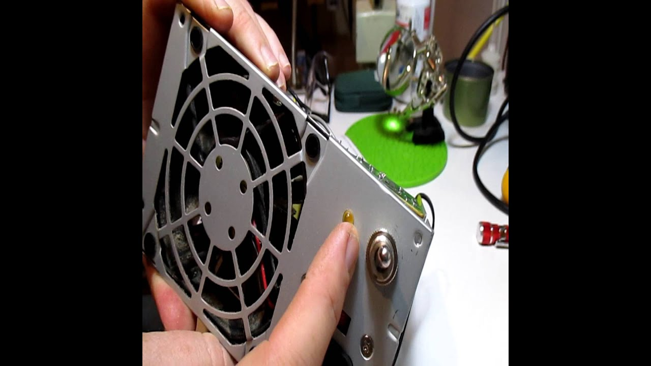 Rewiring a DELL power supply  (Part 2)