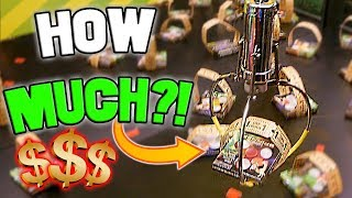 THE MOST EXPENSIVE CLAW MACHINE EVER!