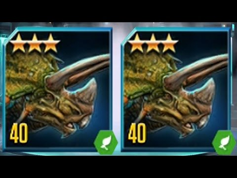 TRICERATOPS  LEVEL 40 - Jurassic World The Game