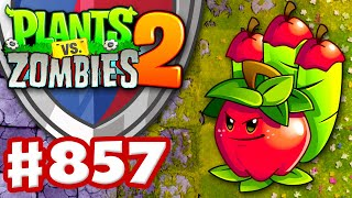 Apple Mortar Arena! - Plants vs. Zombies 2 - Gameplay Walkthrough Part 857