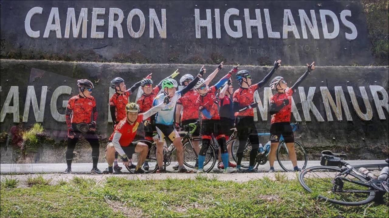 Simpang Pulai - Berinchang(Cameron Highlands) Ride 250616 (KRCG)