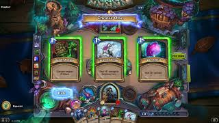 Hearthstone The Witchwood Monster Hunt Tracker Run 2 Challenge 7
