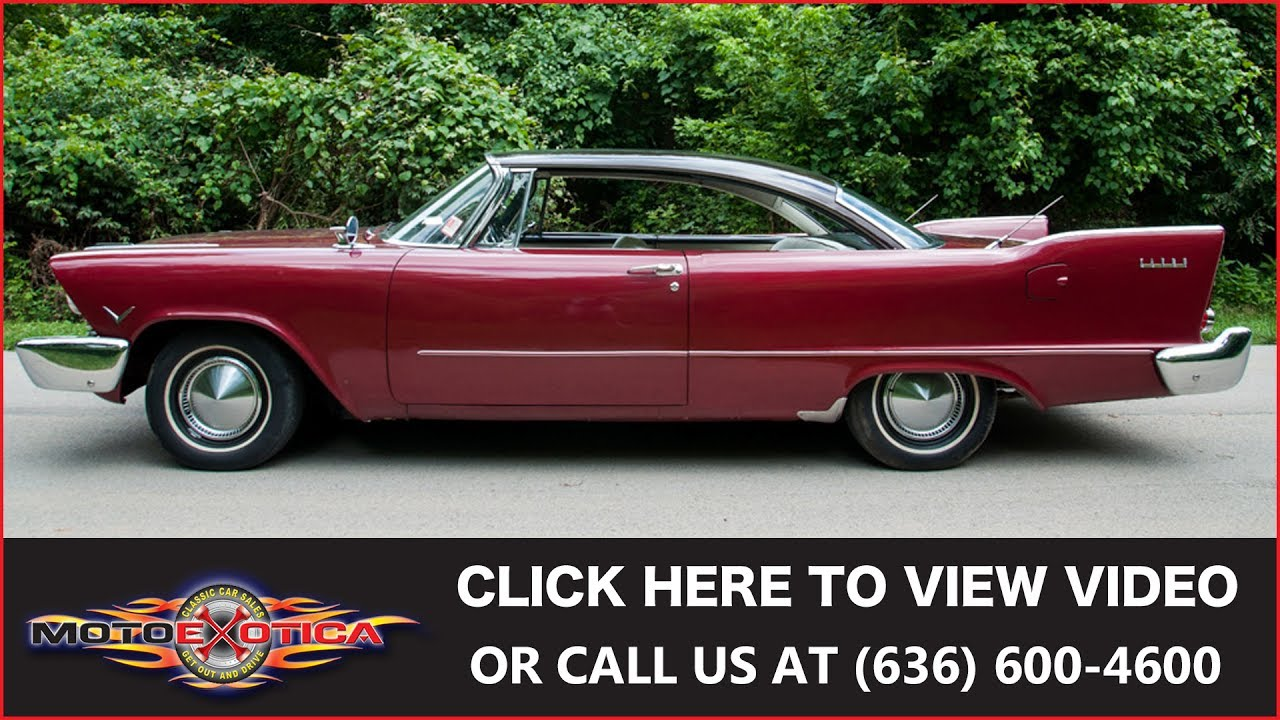 1957 Plymouth Fury For Sale >> 1957 Plymouth Savoy Hardtop || SOLD - YouTube