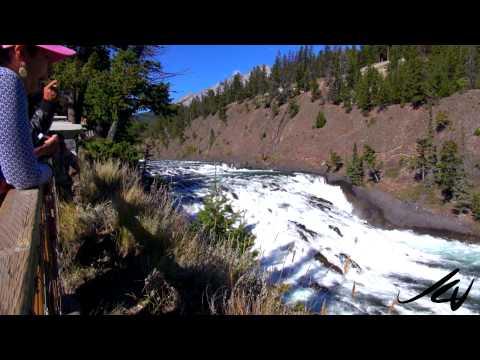 Bow Falls, Banff National Park - Alberta, Canada -  YouTube