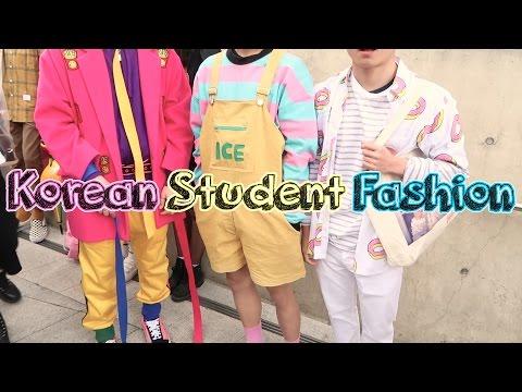 What Korean Students Wore to Seoul Fashion Week! 17FW